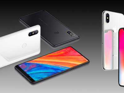 Xiaomi Mi Mix 2S frente al iPhone X: Xiaomi pedía a gritos la comparativa completa