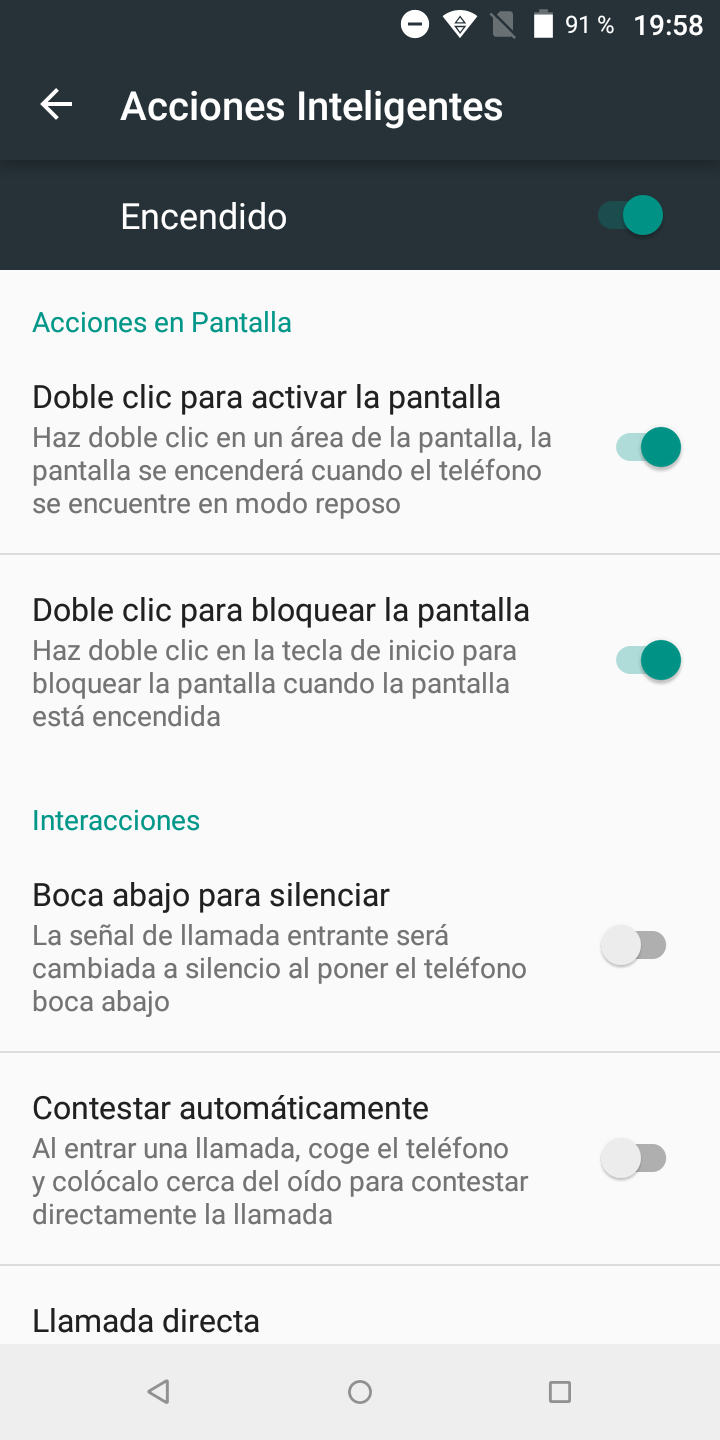 Foto de Software del Wiko VIEW (10/16)