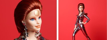 Barbie se convierte en Ziggy Stardust para homenajear a David Bowie (y no le falta detalle)