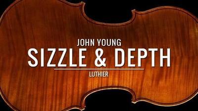 La magia de crear un violín artesanal con John Young