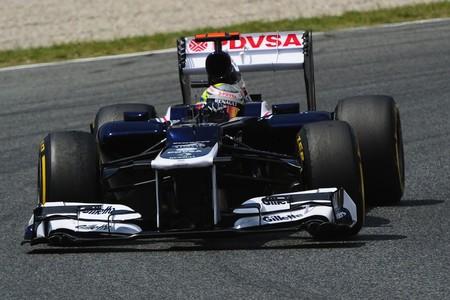 Maldonado Espana F1 2012
