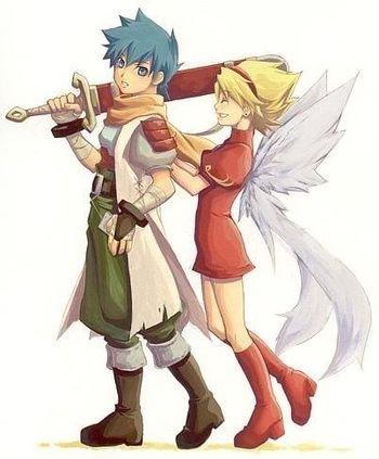 Ryu & Nina (Capcom)
