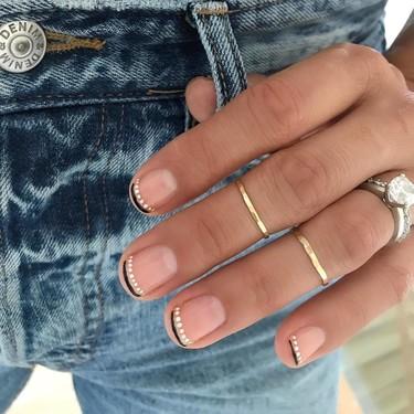 21 formas para lucir una manicura francesa con un toque diferente que hemos descubierto en las redes sociales