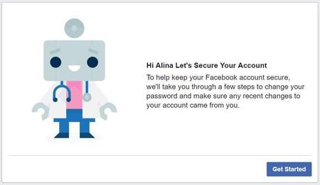 Robot Facebook