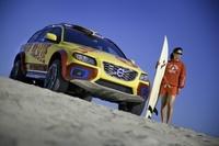 Los vigilantes de la playa: el Volvo XC70 se pone el traje de faena