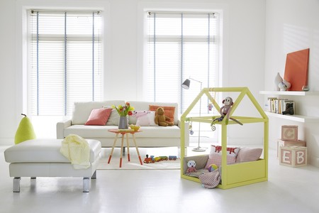 ¡Es Navidad! ¿Preparamos una casita de juegos para tu bebé?