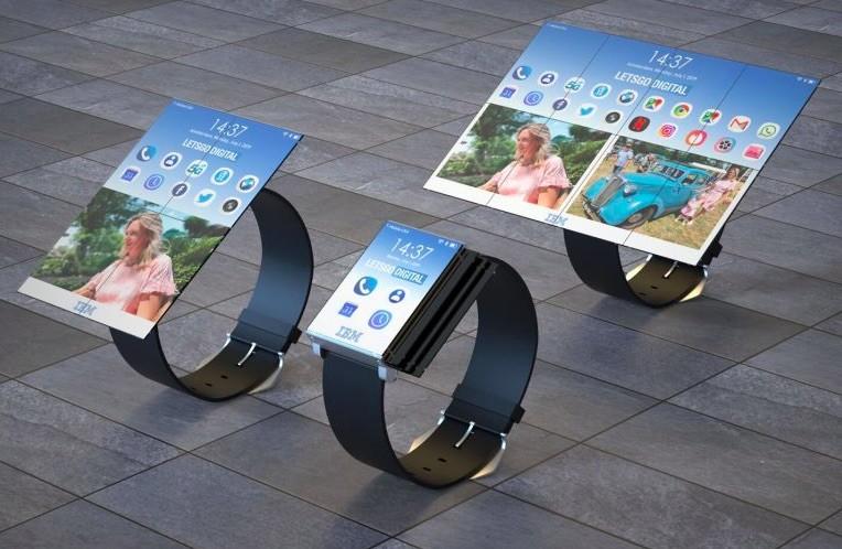 Un smartwatch que aumenta el tamaño de su pantalla hasta parecer tablet: la loca idea de IBM para dar nuevo valor a los wearables