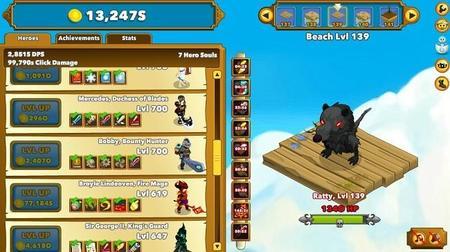 Clicker Heroes nivel 139
