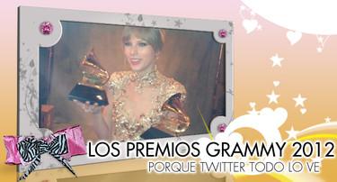 Los Grammys 2012: Porque Twitter, todo lo ve