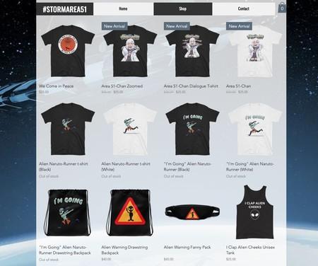 Area 51 Merchandising