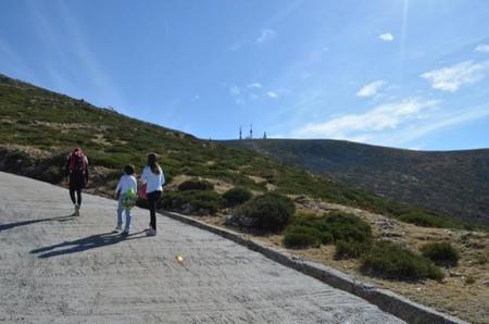 Senderismo con peques: repetimos la ruta desde el Puerto de Navacerrada hasta la Bola del Mundo