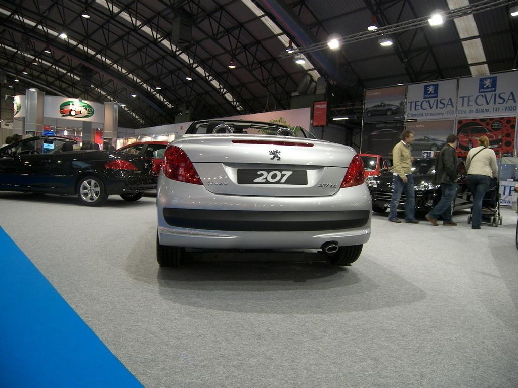 Foto de Peugeot 207 CC en el Salón de Vigo (1/6)