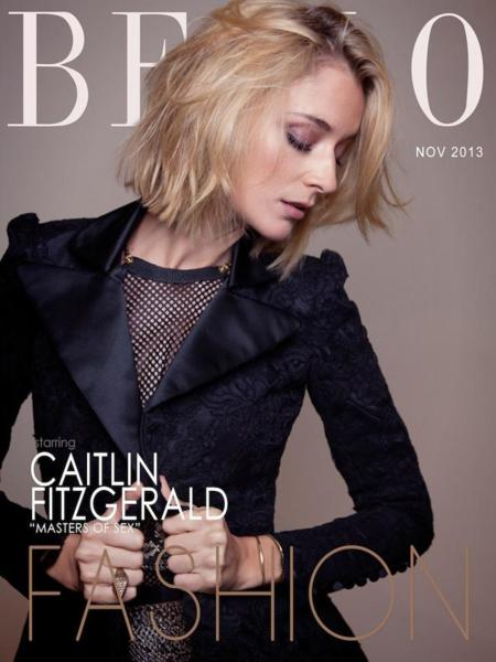 Bello Magazine Caitlin Fitzgerald