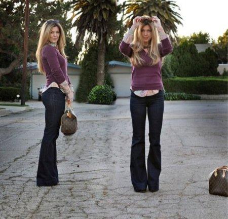 Jeans Pantalón campana