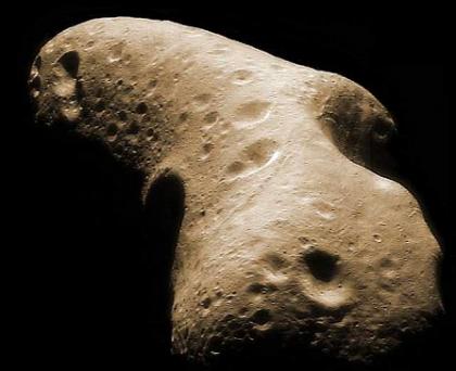 Existen pocas probabilidades de que un gran asteroide impacte contra la Tierra