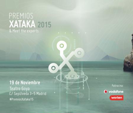 Premios Xataka 2015: reserva el 19 de noviembre, ¡preinscríbete ya!
