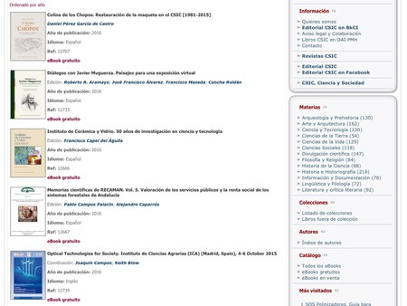 Window Y Libros Csic Libros Electronicos Del Consejo Superior De Investigaciones Cientificas Csic