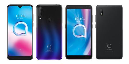 Alcatel 3L 2020, Alcatel 1V 2020, Alcatel 1S 2020 y Alcatel 1B 2020: Android 10 y precio accesible para la nueva gama de Alcatel