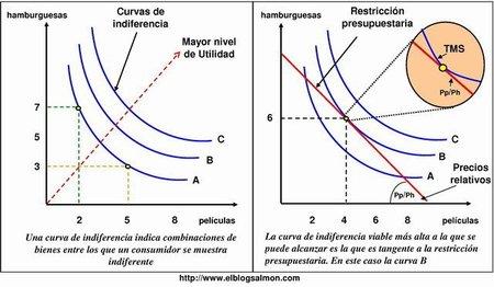 ¿Qué son las Curvas de Indiferencia?