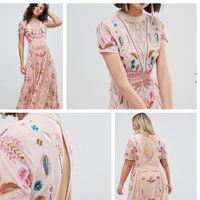 El vestido de invitada más romántico tiene 40 euros de descuento en Asos