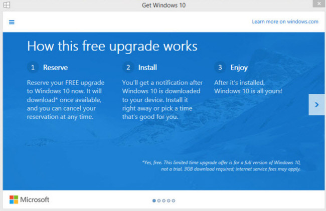 Windows 10 Upgrade