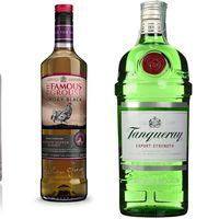 4 ofertas de Amazon en ginebra y whisky de primeras marcas