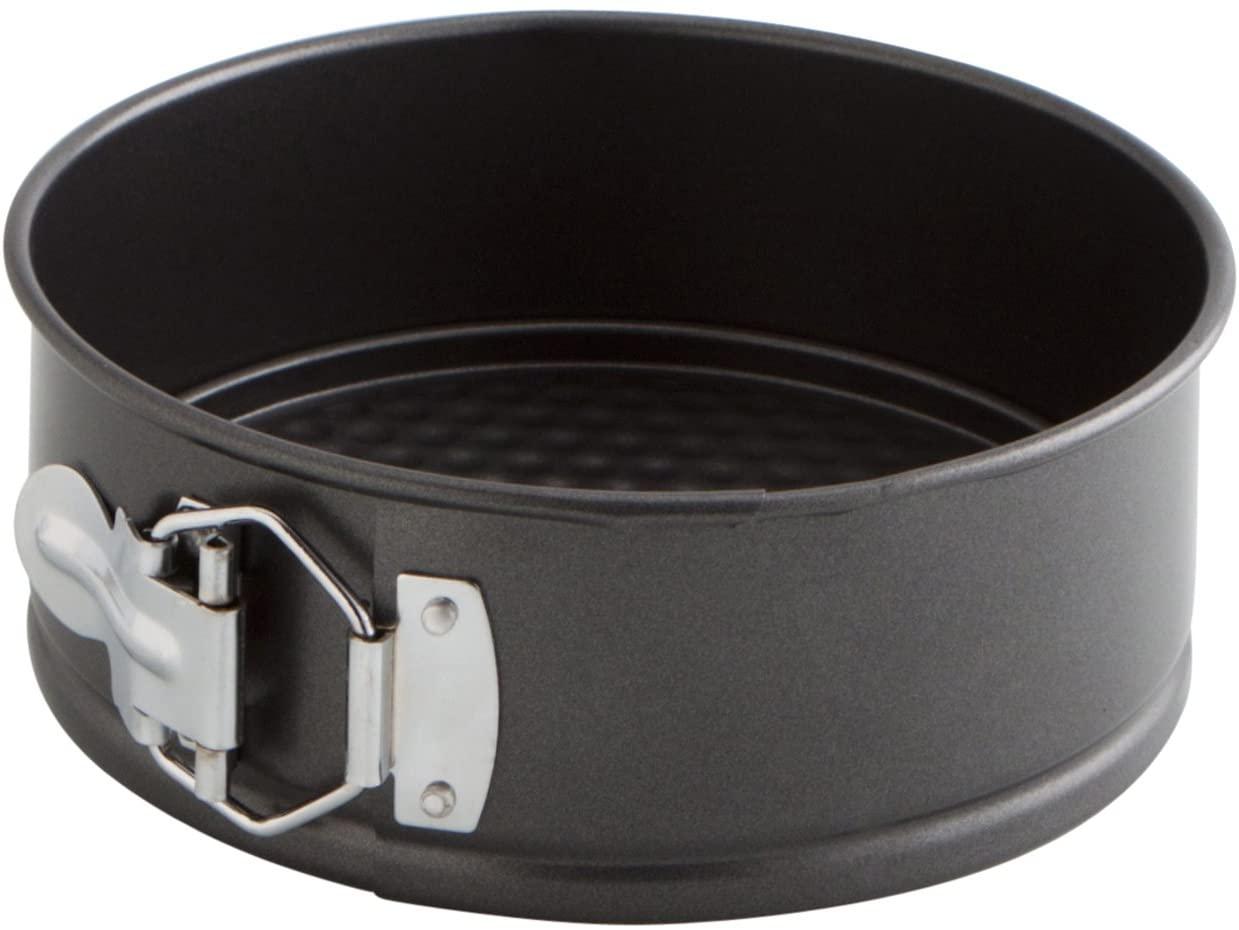 Quid Sweet Grey - Molde de horno desmontable, Negro, 17 cm