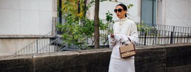 El street style ha hablado: siete looks con el blanco como protagonista ideales para el otoño-invierno (y las piezas para crearlos)
