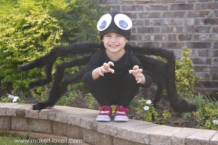 Disfraz Halloween Facil Barato Arana 1