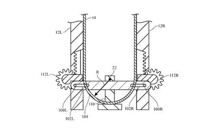 Apple patenta un dispositivo plegable con un sistema mecánico que evita daños en la pantalla