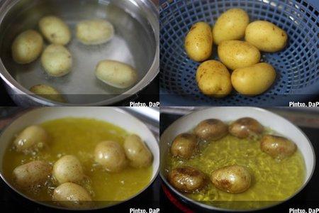 Mini patatas fritas