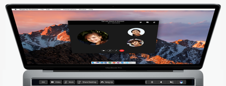 Office Mac Touch Bar Skype