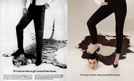 Un fotógrafo ha dado la vuelta a los anuncios machistas de los 50 y el resultado es fantástico