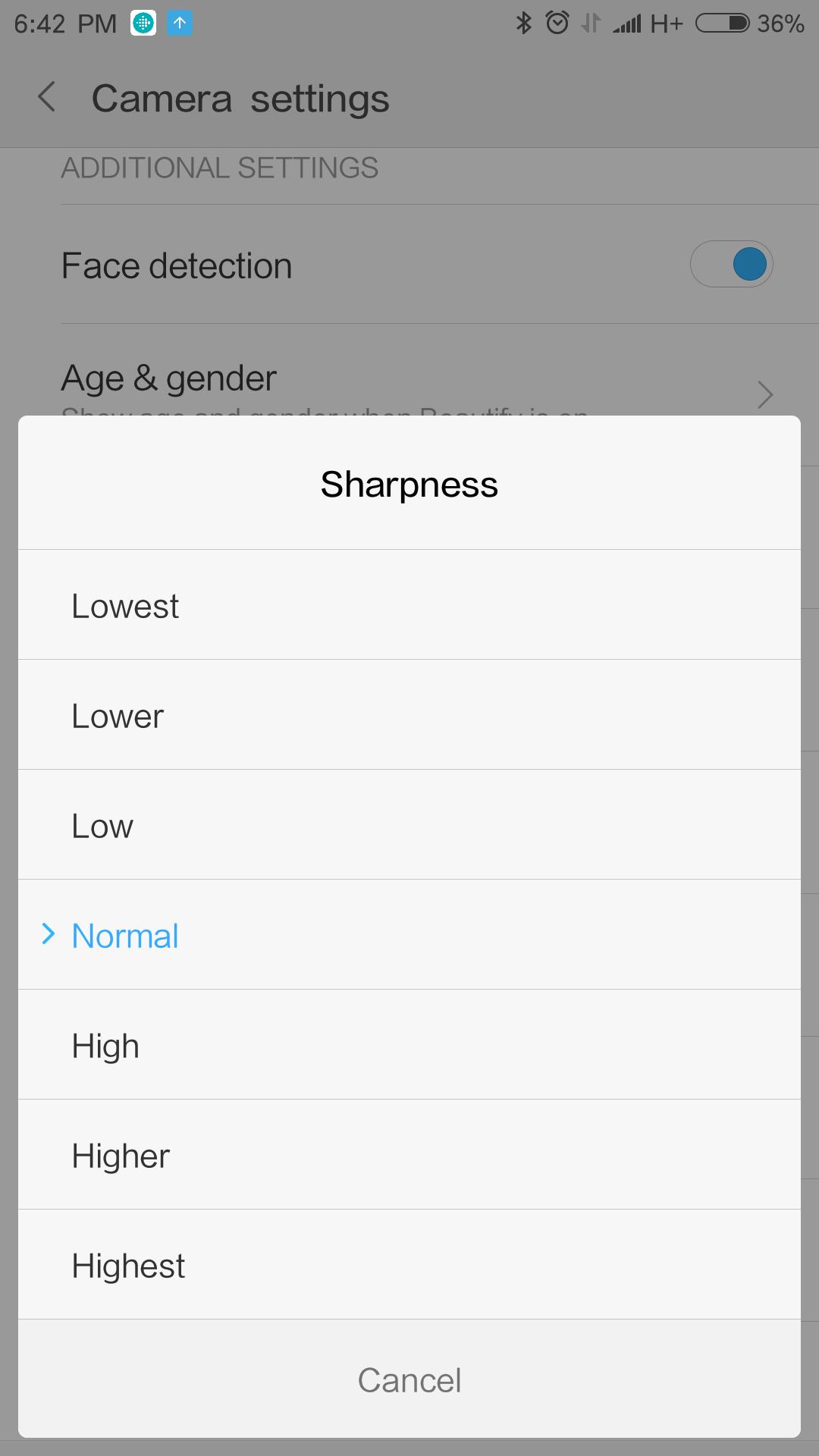 Xiaomi Mi6 interfaz