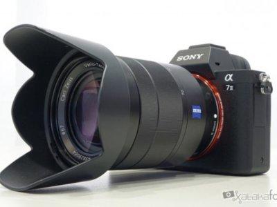 Sony A7 II, toma de contacto