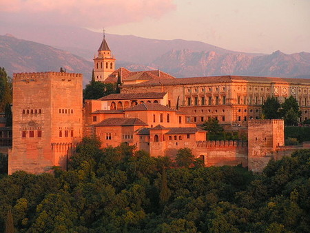 Alhambra, Generalife y Albaicín de Granada