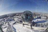 El SkyView, observa Estocolmo desde el cielo