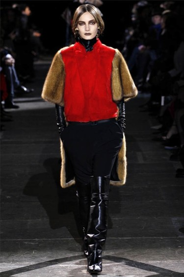 Givenchy Otoño-Invierno 2012/2013: la moda ecuestre al estilo Tisci