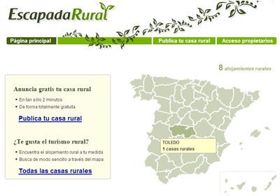 Busca casas rurales con Escapadarural
