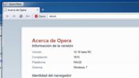 Lanzado Opera 12.10 Beta: mayor funcionalidad, mayor velocidad