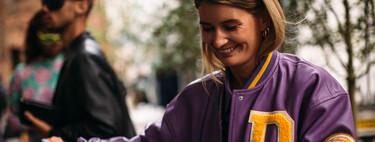 Las chaquetas varsity podrían ser el nuevo blazer. Palabra del street style (y de Bershka)