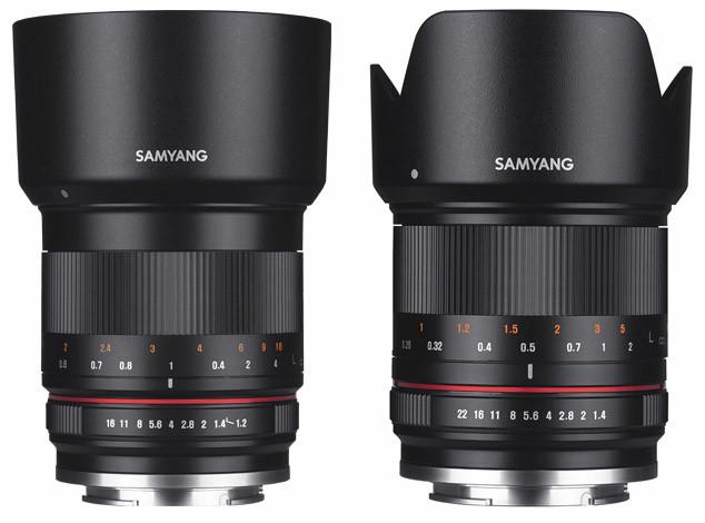 Samyang presenta dos nuevos objetivos para CSC: 50mm f1.2 y 21mm f1.4