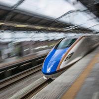 Japón invertirá dos años en una obra para que su tren bala vaya un minuto más rápido