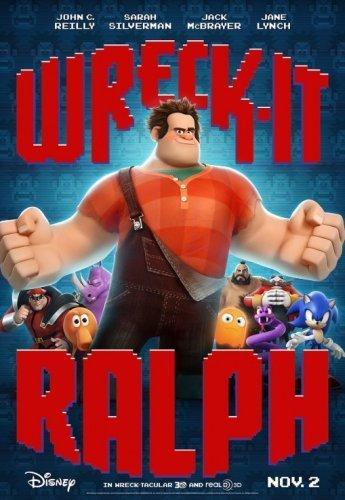 El cartel definitivo de ¡Rompe Ralph!