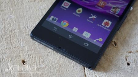 Sony Xperia Z altavoz