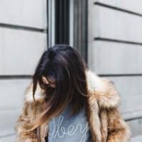 El frío se apodera de las calles y yo con estos pelos