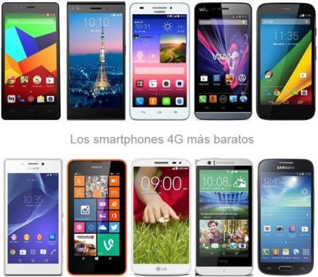 ¿Quién dijo que los móviles 4G tienen que ser caros? Comparamos los más asequibles