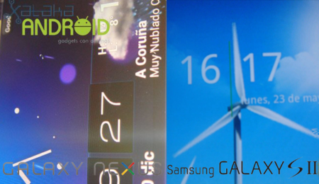 Comparativa: Samsung Galaxy SII vs. Galaxy Nexus
