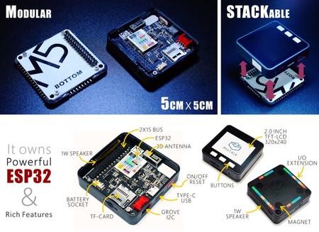 Algunos detalles e información del M5Stack