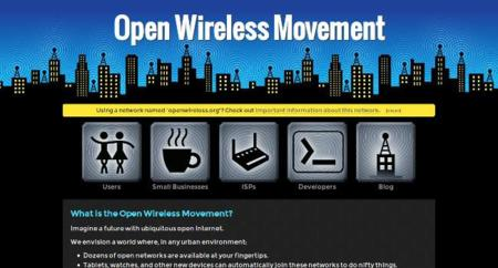 Open Wireless Movement prepara un firmware para compartir nuestra conexión